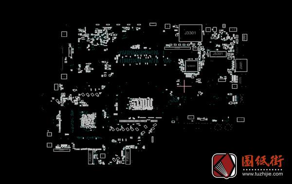 Asus GL752VW Rev 2.0华硕笔记本点位图