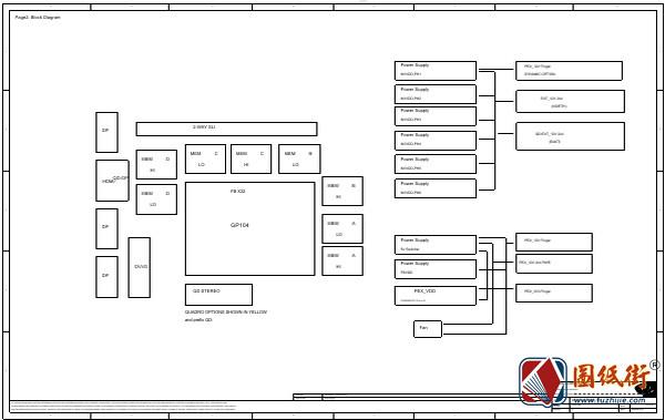 ASUS GTX1070 CG411P 8GB GDDR5X Rev 1.0华硕显卡图纸
