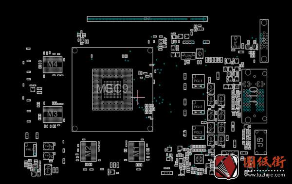 Asus GTX750-FML Rev 1.00华硕显卡点位图