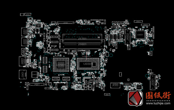 Asus N550LF 2.0 60NB0230-MBB000华硕笔记本点位图