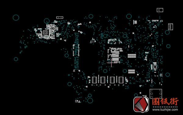 Asus Q503UA Rev 2.0华硕笔记本点位图