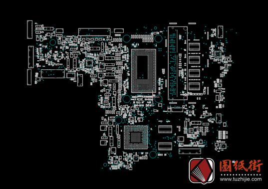 Asus TP301UJ R2.0华硕笔记本点位图