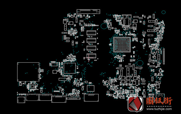 Asus X540YA Rev 3.0华硕笔记本点位图