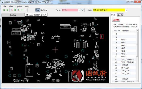 Asus X542BP R2.0笔记本点位图下载