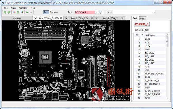 ASUS Z170-A系列主板点位图合集