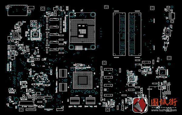 Asus Zen AiO Pro Z240IC Rev1.4 (60PT01E0-MB9B04)主板点位图