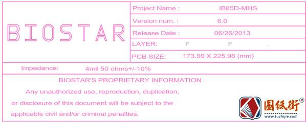 B85MG (IB85D-MHS) Rev 60.映泰主板PDF点位图