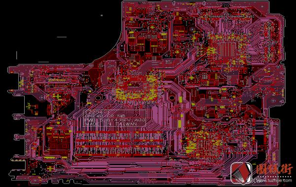 DELL 14-3421 DNE40-CR 12204-1 戴尔笔记本点位图