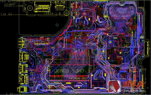 Dell 15 P40F Winstron 13283-1 Rev 1笔记本点位图