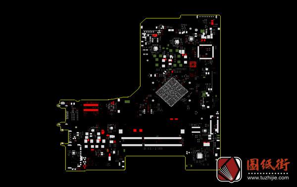 Dell 5552 LA-C571P R1.0戴尔笔记本点位图