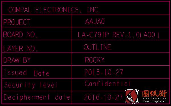Dell 5175 AAJA0 LA-C791P REV1.0戴尔笔记本点位图