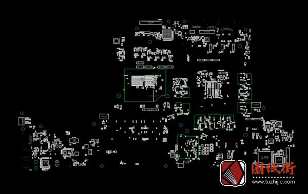 Dell Alienware 17 R4 LA-D751P Rev1.0外星人笔记本点位图