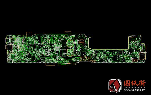 Dell XPS 13 9365 BAZ80 LA-D781P rev 1.0戴尔笔记本点位图