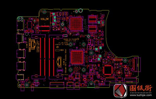Dell 15-5565 BAL23 LA-D804P Rev 1.0(A00)戴尔笔记本点位图