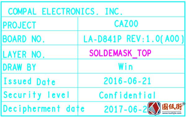Dell XPS 13 9360 LA-D841P Rev1.0 (A00)笔记本PDF点位图