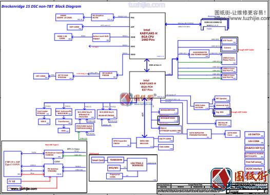 Dell 3520 CDP81 LA-E153P Rev 0.2 (X01)戴尔笔记本图纸
