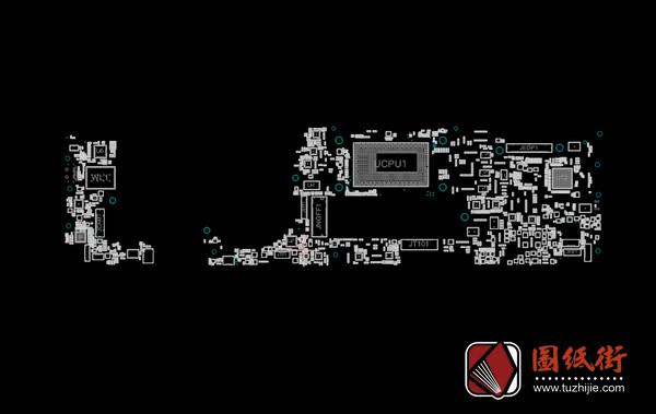 DELL XPS 13 9370 CAZ60 LA-E671P Rev1.0 戴尔笔记本点位图CAD