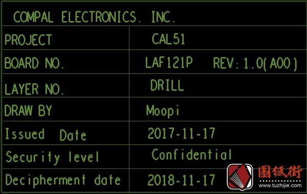 Dell 15 5575 CAL51 LA-F121P Rev 1.00戴尔笔记本点位图