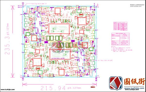 Dell XPS 15 9575 DAZ10 LA-F211P Rev1.0(A00)戴尔笔记本点位图PDF