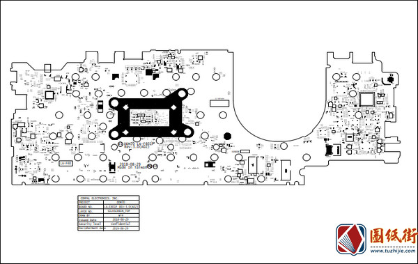 Dell 5490 LA-F401P REV :3.0 (A02)戴尔笔记本点位图PDF