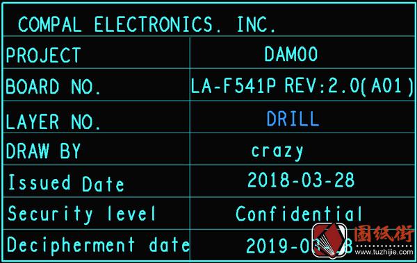Dell 5530 9570 LA-F541P REV2.0戴尔笔记本点位图