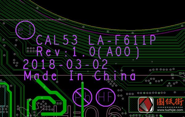 DELL G3 LA-F611P REV 1.0戴尔笔记本点位图