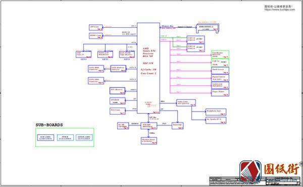 Dell 3493 3593 3793 5493 5593 LA-H872P Rev: 1.0 (A00)戴尔笔记本图纸