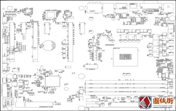 GA-Z270X ULTRA GAMING REV 1.0 1.03技嘉主板点位图PDF