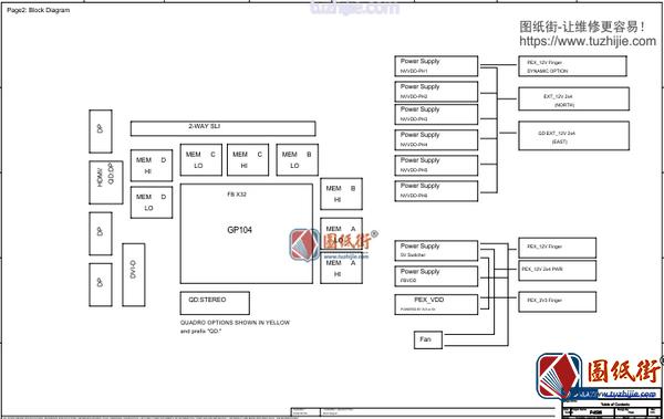 GALAXY GTX 1060 P45M Rev V10影驰显卡图纸
