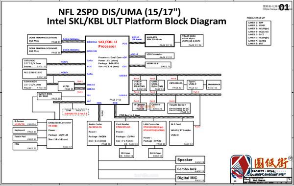 Hp 15-cc050wm DAG74AMB8D0 Quanta G74A REV 1A惠普笔记本图纸