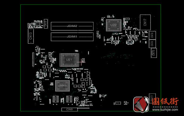 HP 14-N002AX DAOU92MB6D0 Quanta U92惠普笔记本点位图