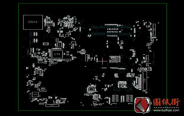 HP 14-N002AX DAOU92MB6D0 Quanta U92惠普笔记本点位图下载