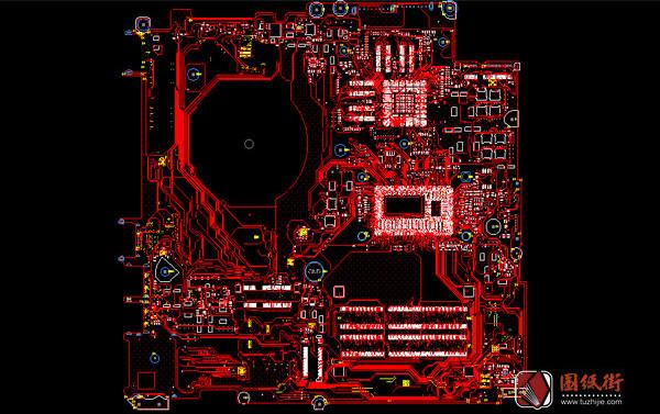 HP 15-P/17-F Quanta Y16E DAY16EMB8C0 REV.B惠普笔记本点位图BRD