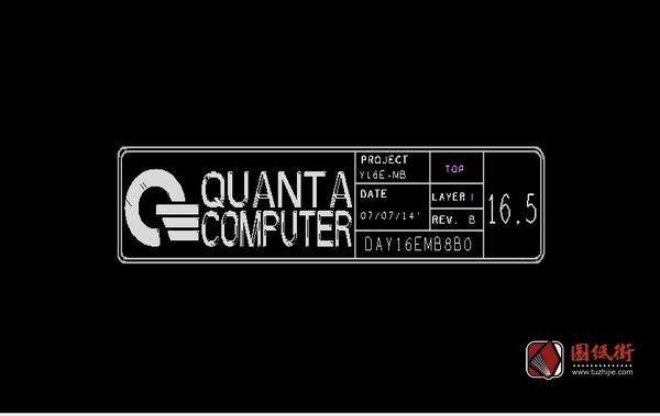 HP 15-P/17-F Quanta Y16E DAY16EMB8C0惠普笔记本点位图BRD