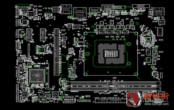 MSI H310M PRO-VD MS-7B33 VER:1.0微星主板点位图