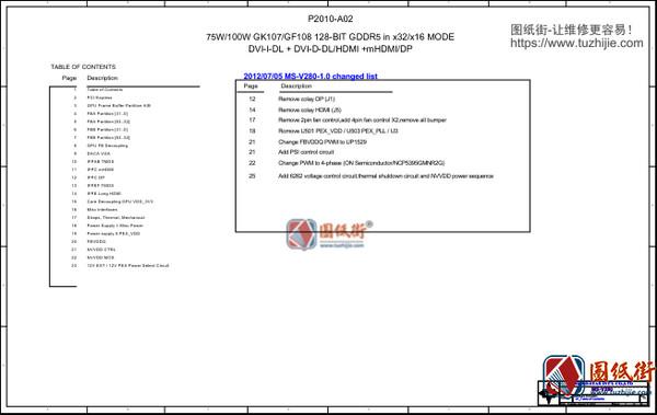 MSI GTX650 TI MS-V280 N650GTX REV 1.0微星显卡图纸
