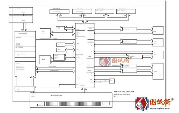 MSI R9 290 GAMING 4G MS-V308 Rev1.0 2.2微星显卡图纸