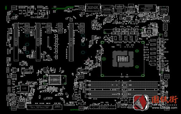 MSI Z170A GAMING M5 MS-7977 REV1.1 2.0微星主板点位图