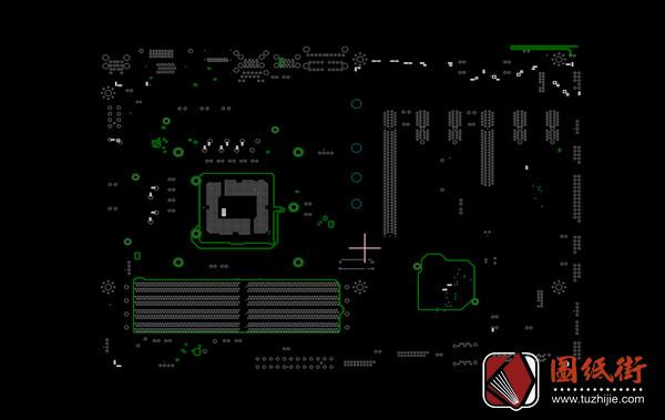 MSI Z270 GAMING PLUS MS-7A75 Rev1.0 10微星主板点位图