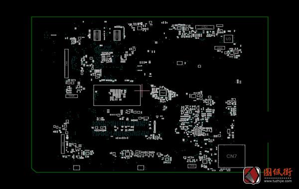 Quanta JWC-MB-B 广达笔记本点位图BDV