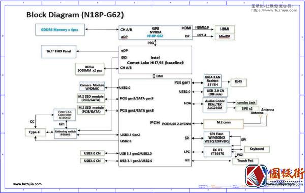 Xiaomi XMG-2003 A7-6050A3179901小米笔记本图纸