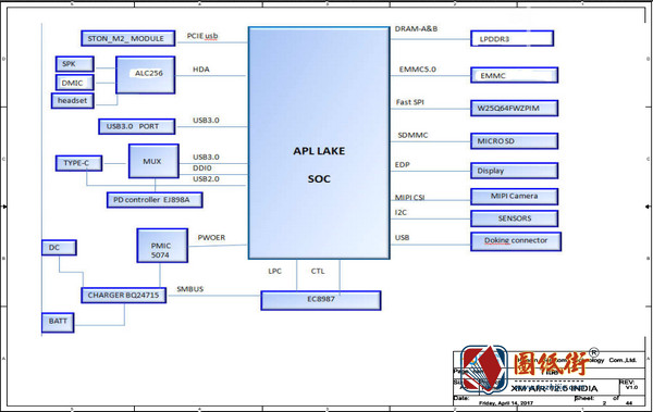 Xiaomi AIR 12.5_XM AIR 12.5 INDIA Rev V1.0小米笔记本图纸