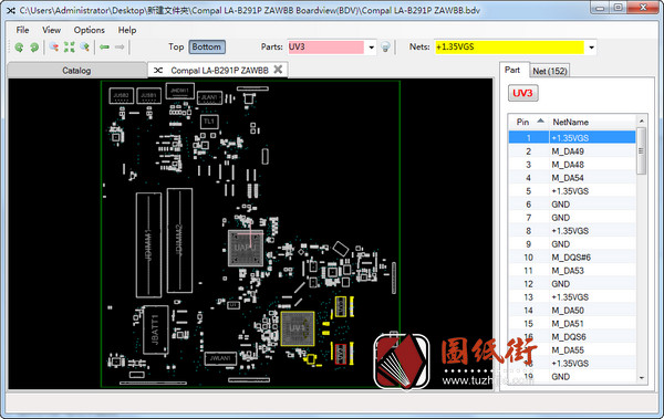 Lenovo B50-45 LA-B291P Rev1.0联想笔记本点位图