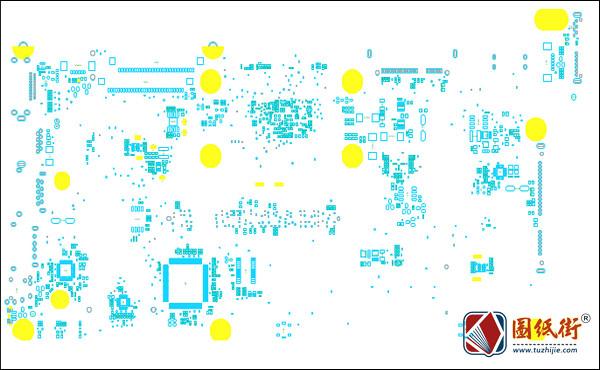 Lenovo 100-14IBY/15IBY B50-10 LA-C771P笔记本元件位号图