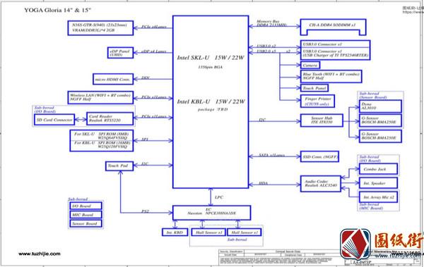 Lenovo Yoga 710 LA-D471P Rev2.0联想笔记本图纸