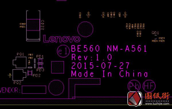 ThinkPad E460 E560 BE560 NM-A561 Rev 1.0联想笔记本点位图