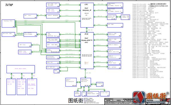 ThinkPad T470P NM-B071 REV 0.2联想笔记本电路图纸