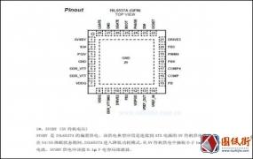 ISL6537主板DDR内存供电控制芯片引脚中文说明