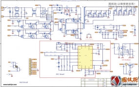 Cougar CMX850 ( HEC-850TG-5LX-M )骨伽电源电路原理图纸
