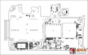 华为Enjoy畅享7S HL2FIGOM主板元件位号图